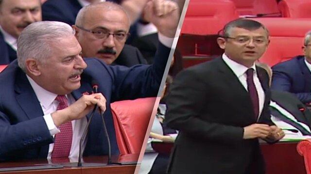 Başbakan Yıldırım'dan CHP'li Özel'e tarihi ayar!