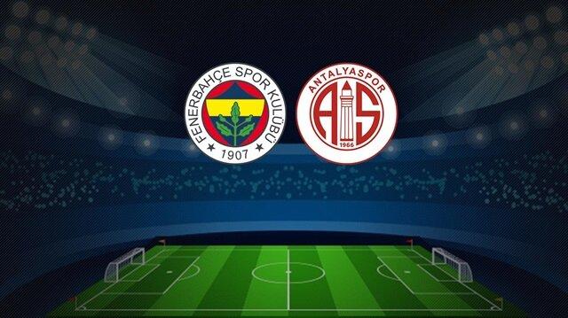 Fenerbahçe-Antalyaspor