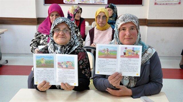 Zonguldak'ta okuma yazma bilmeyen kadınlar hayallerine kavuşuyor