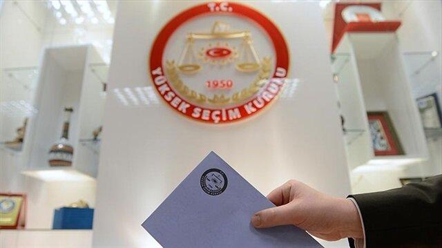 YSK seçim takvimini partilere gönderdi