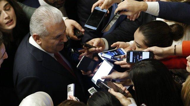 Başbakan Yıldırım, 23 Nisan resepsiyonunda soruları cevapladı