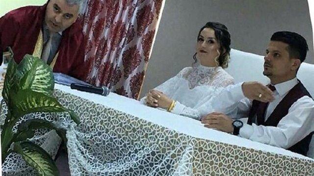 Nikahı iptal edilen çift bu kez canlı yayında evlenecek