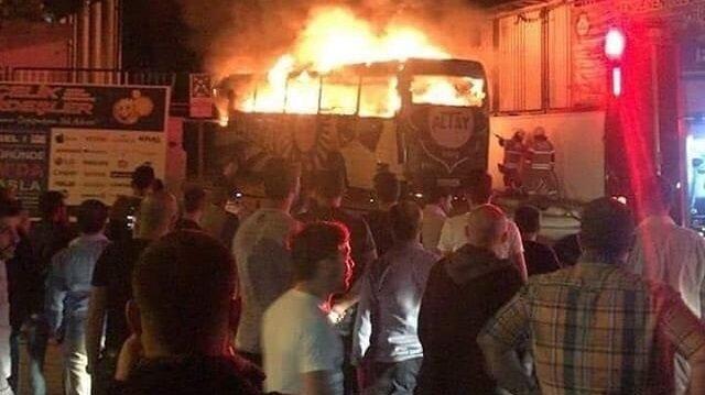 Altay'dan 'yangın' açıklaması: Korkutmak için yapıldıysa gülünç bir durumdur