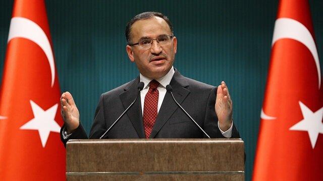 Hükümet Sözcüsü Bozdağ'dan AKPM'ye sert tepki: Çifte standarttır