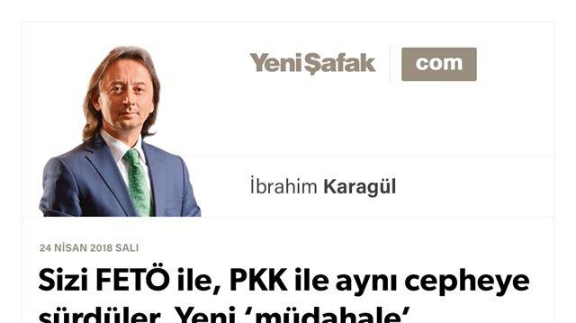 Sizi FETÖ ile, PKK ile aynı cepheye sürdüler. Yeni 'müdahale' başladı.. Asla 'yerli' değilsiniz!