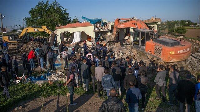 Adıyaman'daki depremden ilk görüntüler