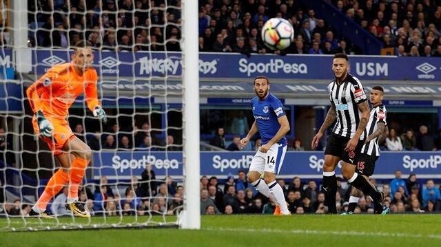 Cenk Tosun'un Newcastle maçı performansı