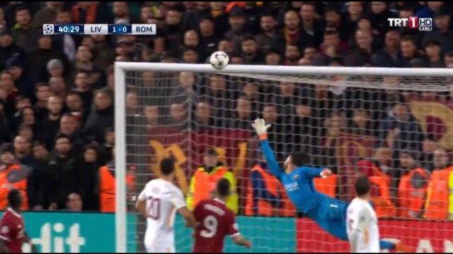 Salah'tan Roma'ya müthiş gol