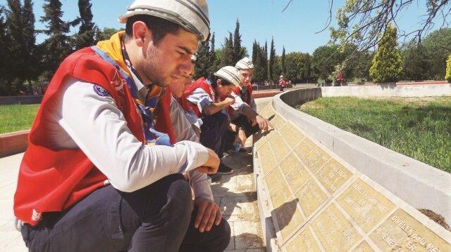 Ülkenin dört bir yanından ve yurt dışından gelen gençler, Kocadere Kamp Alanı'nda buluştu.