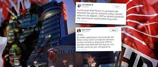CHP'den 'Gül' çarkı!
