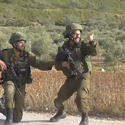 Filistinli göstericiyi vuran İsrail askeri sevinç çığlığı attı