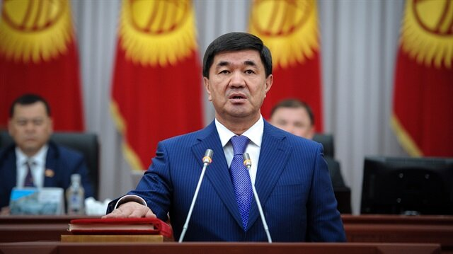 New Kyrgyz government sworn in