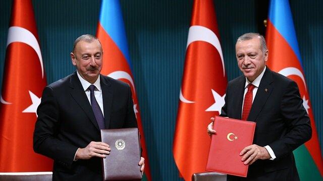 أردوغان: علاقاتنا مع أذربيجان ستشهد طفرة في المجال الاقتصادي