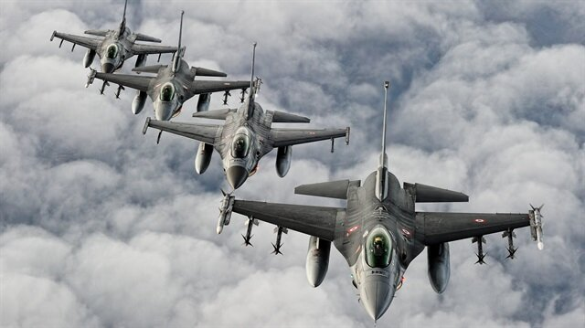 Kuzey Irak'ta PKK hedefleri imha edildi