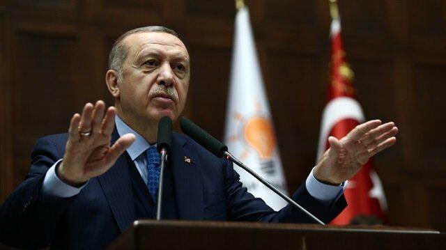 Erdoğan'dan uyarı: İşaret gelmeden kimse ayrılmasın