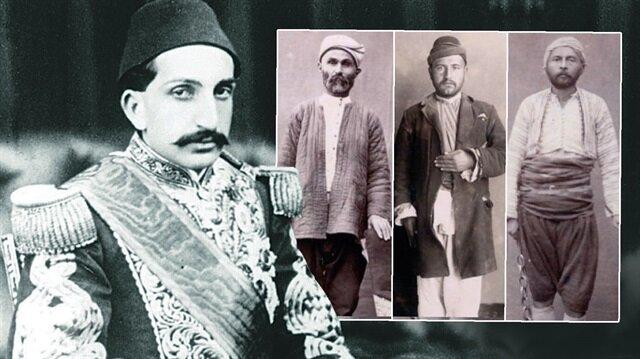 Sultan 2. Abdülhamid'in incelediği katil fotoğrafları