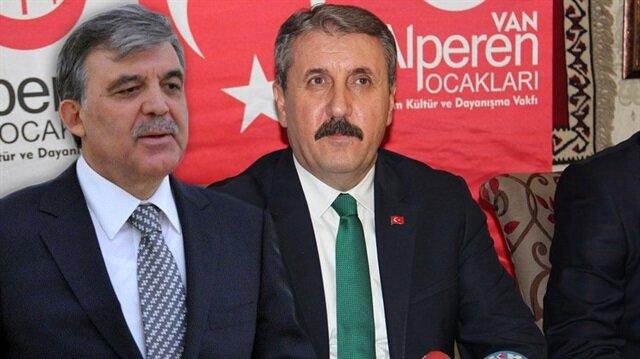 BBP'den Abdullah Gül'e adaylık uyarısı: 2007'yi hatırla
