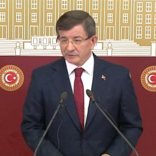 Ahmet Davutoğlu: 'Cumhurbaşkanımız benim de adayım'