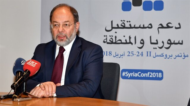 $4.4B pledged at Brussels conference on Syria