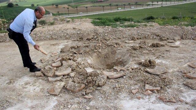 Mezarlıkta esrarengiz kazı