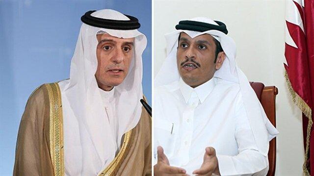 Suudi Arabistan'ın 'ABD' imasına Katar'dan net yanıt