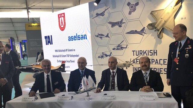 شركتان تركيتان توقعان اتفاقية لإنشاء طائرة حربية محلية الصنع
