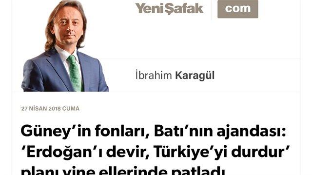 Güney'in fonları, Batı'nın ajandası: 'Erdoğan'ı devir, Türkiye'yi durdur' planı yine ellerinde patladı..