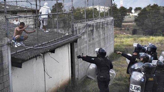 Guatemala'da cezaevi isyanı: 7 ölü