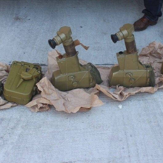 'Bebek bezi var' dedikleri TIR'dan antitank füzesi çıktı