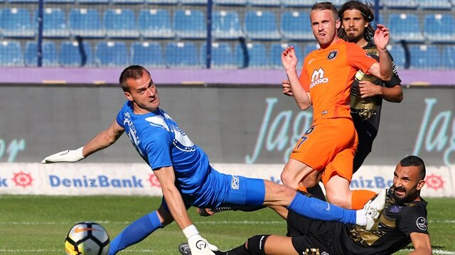 Osmanlıspor-Başakşehir: 1-4