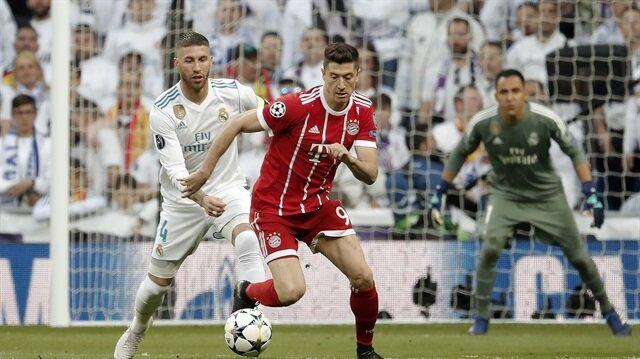 Real Madrid 2 2 Bayern Mnih Ma Zeti Ve Goller