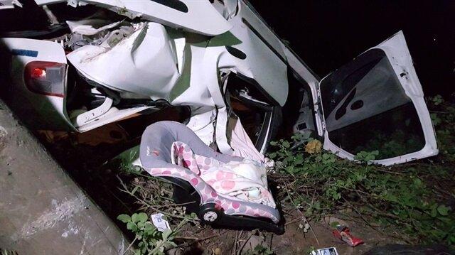 Düzce'de meydana gelen trafik kazasında 5 kişi yaralanmıştı.