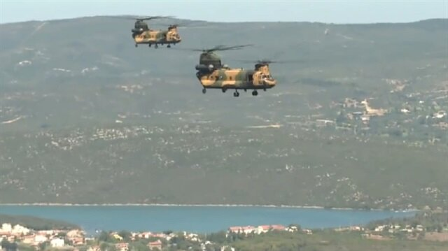 Turkish Armed Forces share amazing footage of EFES 2018 military drills