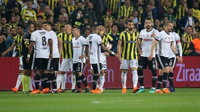 Fenerbahçe-Beşiktaş maçı çıkan olaylar sebebiyle tatil edilmişti.