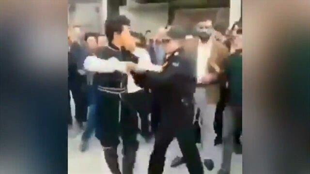 İran polisi dans eden Türk'e müdahale ederse...
