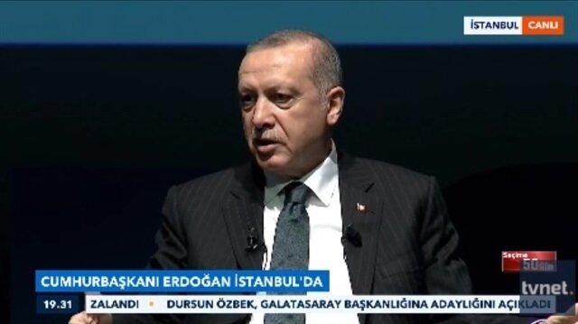 Cumhurbaşkanı Erdoğan duvarlara yazı yazdığı yılları anlattı