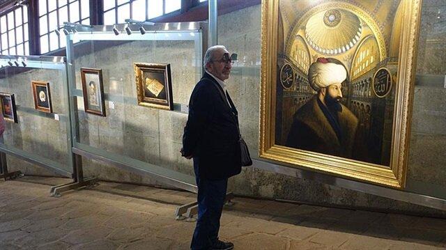 İranlı sanatçı Yakup Cem'in eserleri Yeditepe Bienali'de