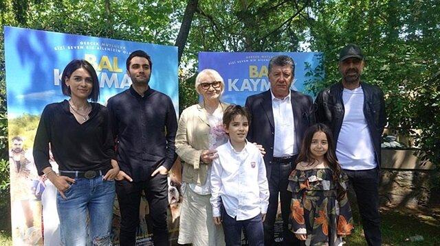 'Bal Kaymak' filminin basına tanıtımı yapıldı.