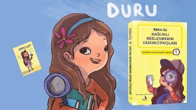 """Türkiye'de çocuk kitapları alanında ilk olan, """"Dedektif Duru Gerçeğin Peşinde"""" serisinin birinci kitabı """"Sağlıklı Beslenmenin Gizemli İpuçları"""" yayınladı."""