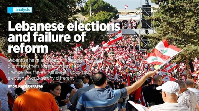 Lebanon awaits election results, turnout at 49 percent