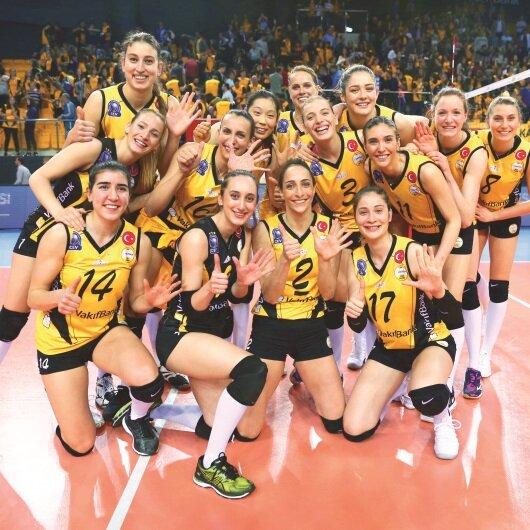 El ele finale kupa Türkiye'ye