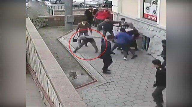 30 kişiyi tek başına döven Çeçen