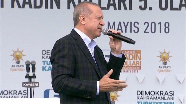 Erdoğan'dan CHP'nin adayı İnce için ilk yorum