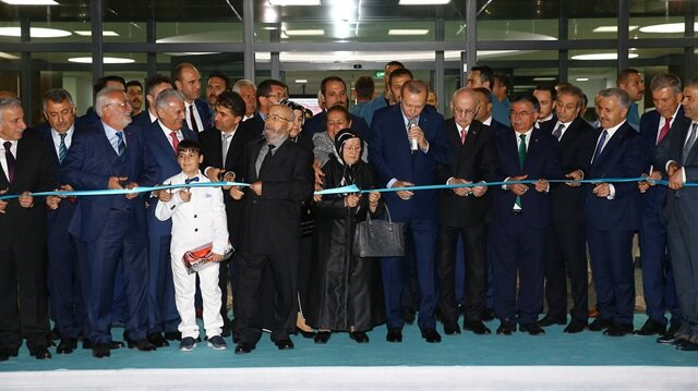 Cumhurbaşkanı Erdoğan Kayseri'de Fen lisesi açılışı yaptı
