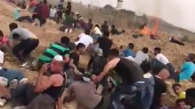 İşgalci İsrail askerleri 6 Filistinliyi yaraladı