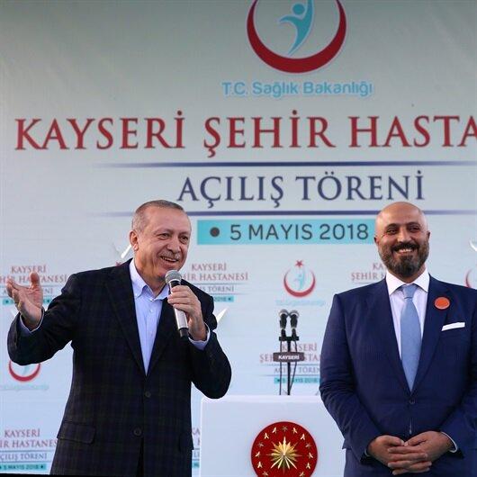 Cumhurbaşkanı Erdoğan Kayseri Şehir Hastanesi için pazarlık yaptı
