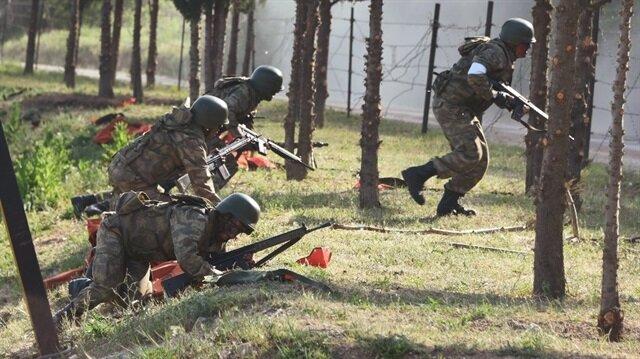 Tatbikat Kırklareli 55. Mekanize Piyade Tugay Komutanlığı Köprücü Taburu tarafından 61 askeri aracın katılımıyla gerçekleştirildi.