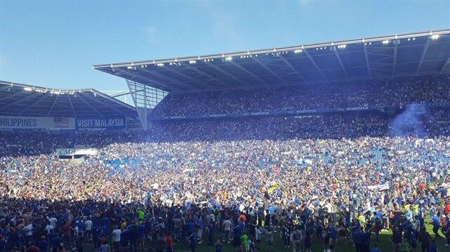Cardiff City Premier Lig'e yükseldi