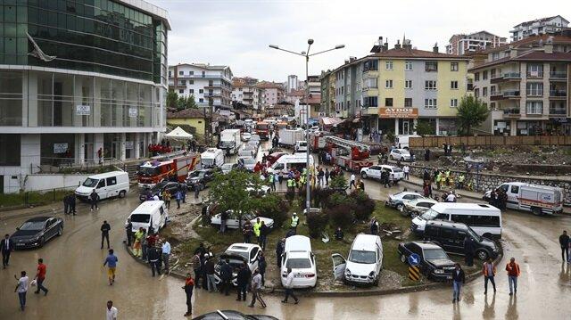 Ankara'da vatandaşların zararları karşılanıyor