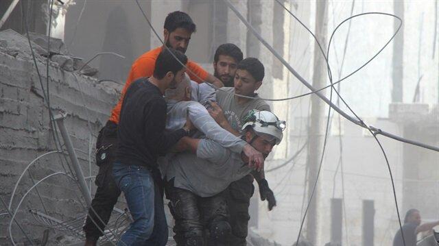 Esed rejiminin İdlib'e saldırılarında 4 sivil hayatını kaybetti